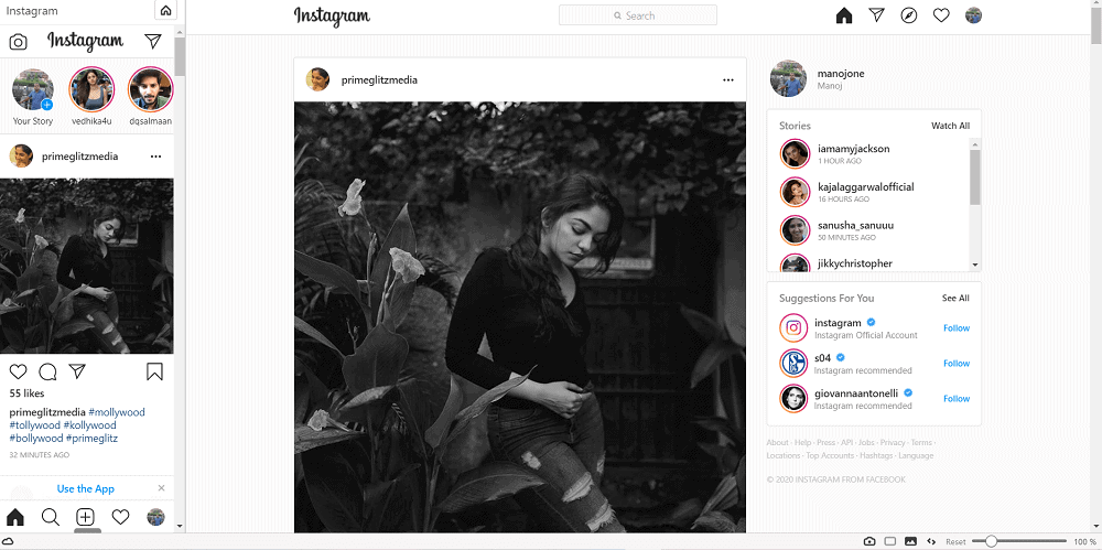Post to Instagram from desktop or mac