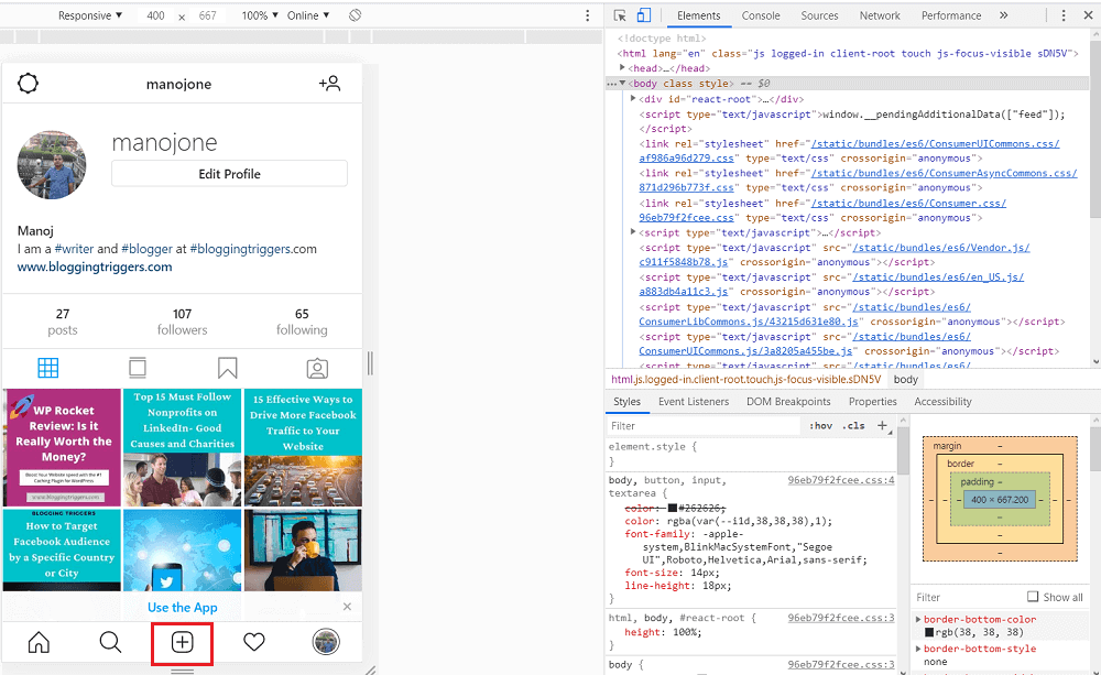 Post to Instagram instagram from opera browser windows