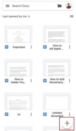 How to Create a Google Doc 2