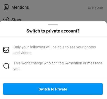 Instagram-private