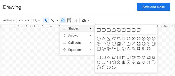 custom-shaped-Google-Docs
