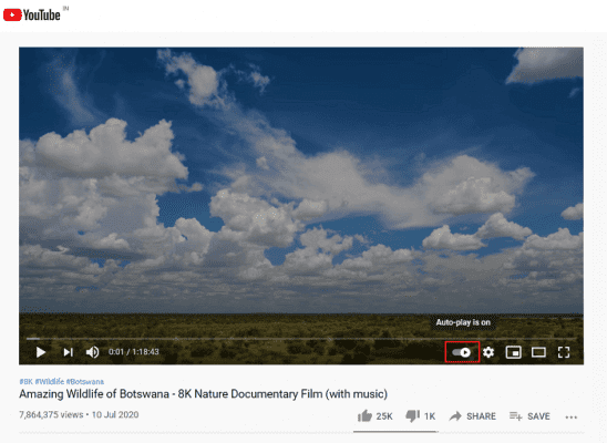 How to Turn Off Autoplay on YouTube 1