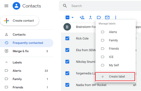 How to Create a Group and Send Mass Emails in Gmail 3