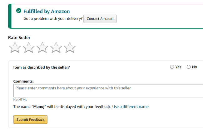 How to Contact Seller on Amazon 6