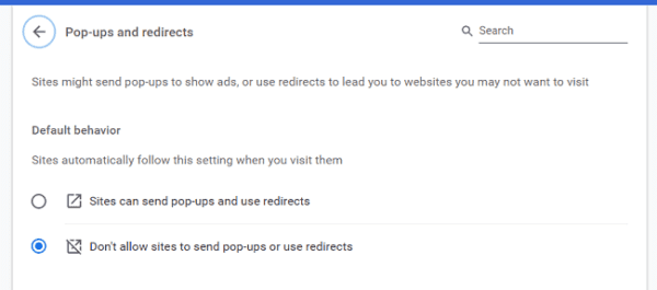 How to Stop Pop Ups on Google Chrome 5