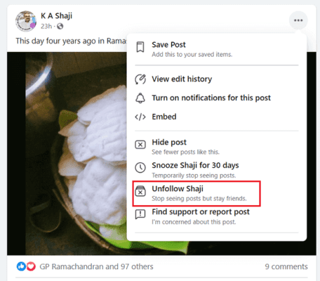 How to Block or Unblock Someone on Facebook 2